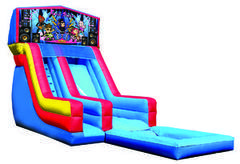 Z-Rock stars water slide