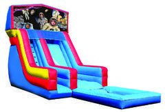 Z-Space kids water slide