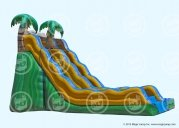 20 Ft Tropical Wave Slide (Wet)
