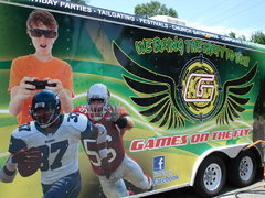 Curbside Video Gaming for up to 16 with Game Coach*