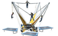 Bungee Trampoline with 4 Stations and Operators*