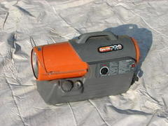 Portable Diesel & Electric Heater