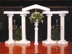 Arch Colonnade Set-White