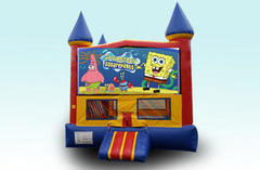 Sponge Bob Castle Bounce House