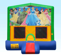 Disney Princess Green Bounce House