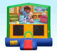 Doc McStuffins Green Bounce House