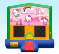 Hello Kitty Green Bounce House