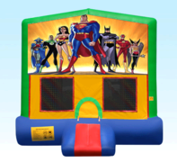 Justice League Green Bounce House