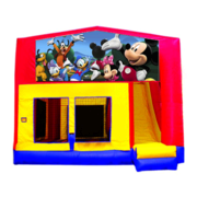 Mickey and Friend Bounce House Combo