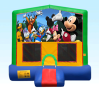 Mickey Mouse Green Bounce House