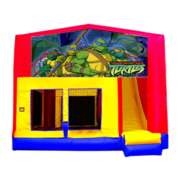Ninja Turtles Bounce House Combo