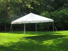 10X10FT White Party Tent, Chairs & Tables