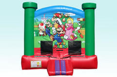 Super Mario Bross bounce house
