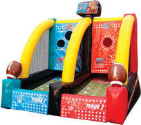 Quarterback Blitz Inflatable Football Game