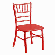 Kids Red Chiavari Chair