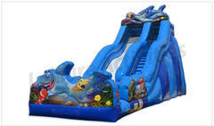 Shark Water Slide 20FT tall