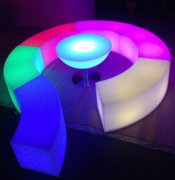 LED Snake Seating Arrangement