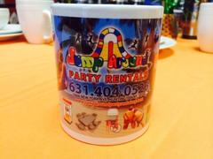 jump around party rental coffee cup
