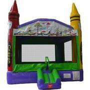 15x15 Crayon Bounce House #2