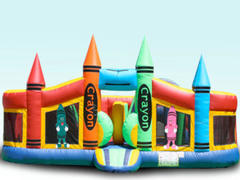 Toddlers Crayon playground