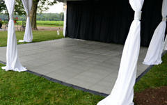 Movable Outdoor Turf Protection tent Flooring
