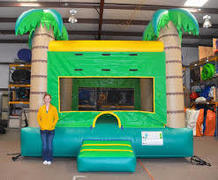Tropical Palm Bounce House