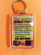 jump around mobile gaming key chain