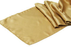 Gold Satin Table Runners