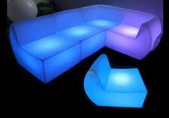 LED Couch Arrangement