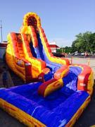 Fire and Ice Water Slide 21 FT Tall