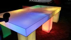 LED Ping-Pong Table