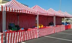 10x10 Carnival game booth