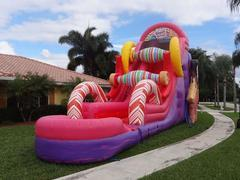 SUGAR RUSH WATER SLIDE 22FT TALL