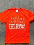 jump around party rentals t shirt