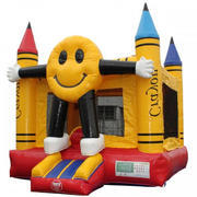 Happy Face Large Bounce House