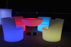 Individual LED VIP chair