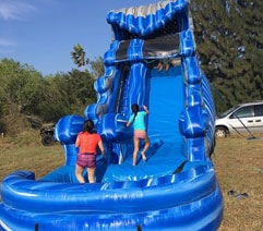 Giant Water Slide Rental