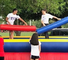 Inflatable Pedestal Joust Rental