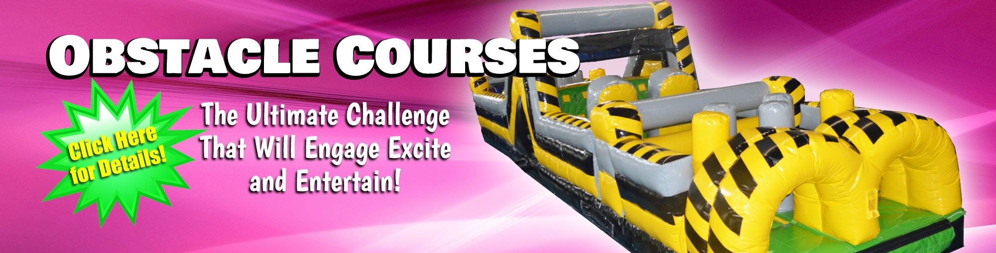 Obstacl Course Rentals