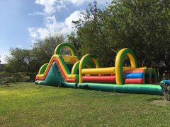 65' Multi-Colored Obstacle Course