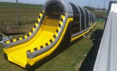 Toxic drop 85' long obstacle course