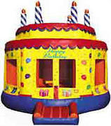 3-Round-cake-Bounce-House15x15
