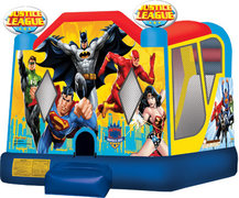 47-Justice-League-Bounce-House-4in1