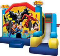 71-Justice-League-Bounce-house-7in1