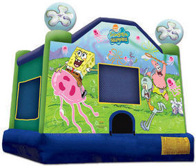 5 Alarm Party Rentals Spongebob Bounce House