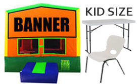 B. Jumper Green w/1 KID Table & 10 KID Chairs
