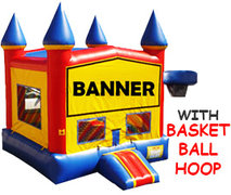 "<font color=red><b>Add-A-Theme Jump (Hoop Outside)<br></font><small>Best for ages 1 - 18<font color=red> | </font><font color=""orange""><b> Basketball Included.</font><br><font color=""blue"">Size 14 W x 15 D x 16 H </font>"
