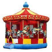 <b>4 in 1 Round & Round Carousel 16x16</b><br><font color=red><b><small>New for 2017. Best For Ages 1-9</b></font>
