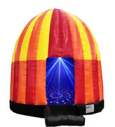 <font color=red><b>Disco Dance Dome<br></font><small>Best for ages 2 - 18<br><font color=blue>Size 20 Round x 18 H</font>