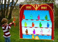 Lucky Ducky Shooting Frame Game
